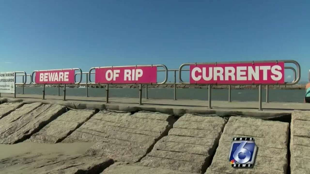Beware of high rip current risk this week