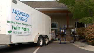 Western Montanans organizing supplies for wildfire relief