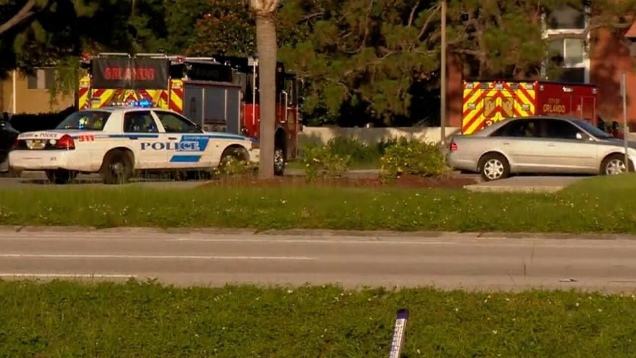 Orlando officer shot while responding to DV call