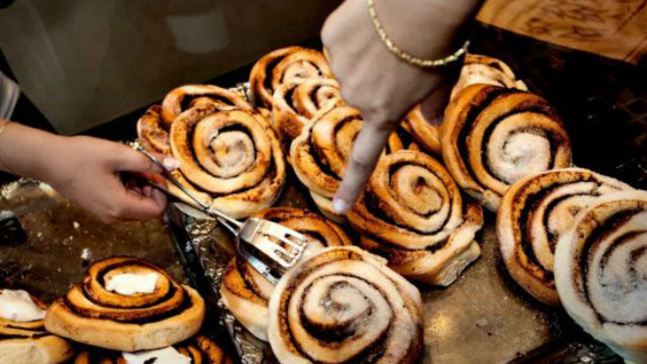 Volunteer Center of Kern County's 4th annual Cinnamon Roll Sale happening on Thursday