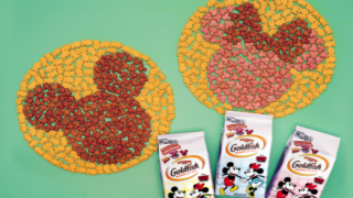Goldfish Is Debuting Mickey- And Minnie-shaped Crackers