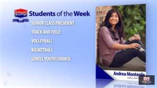 Students of the Week: Jacob Grant and Andrea Monterde of Lovell High School