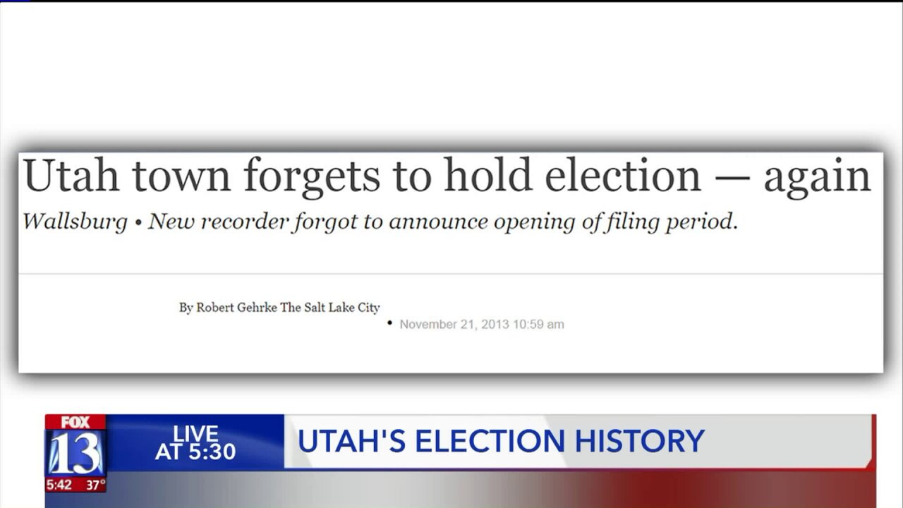 Weird Utah elections: the fatal photo, the true toss-ups, and the un-election