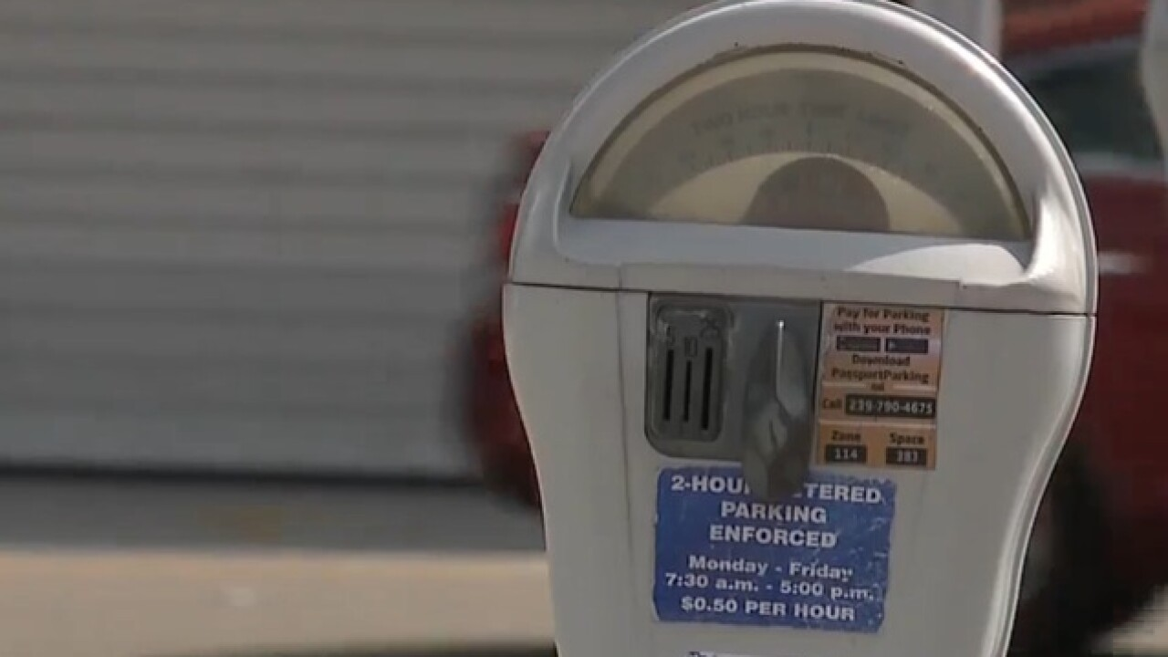 Free parking on Fort Myers Beach until September 10
