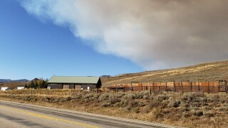 Silver Creek Fire, Ryan Fire, Indian Pass Fire all grow in size over weekend