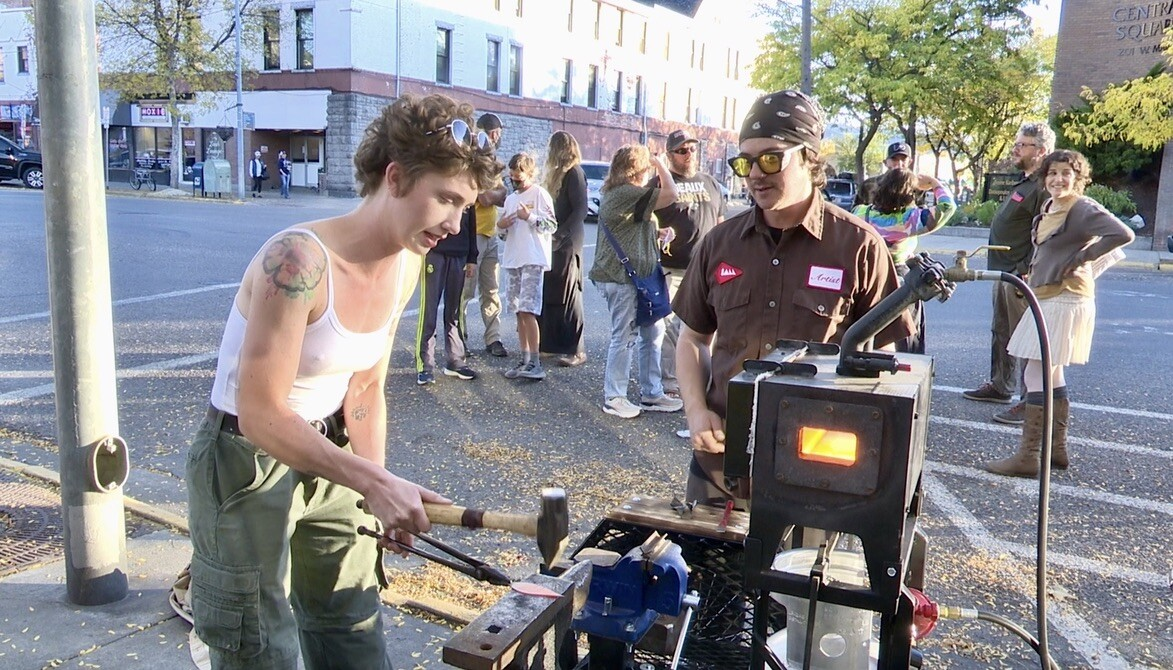 Tricycle Forge Blacksmith School provides free lessons randomly