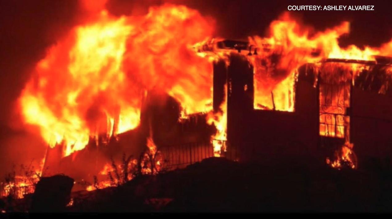 Andrew Alvarez, French Fire, Lake Isabella, August 23, 2021