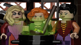 Someone Designed A 'Hocus Pocus' Lego Set That's Based On The Sanderson Sisters' House