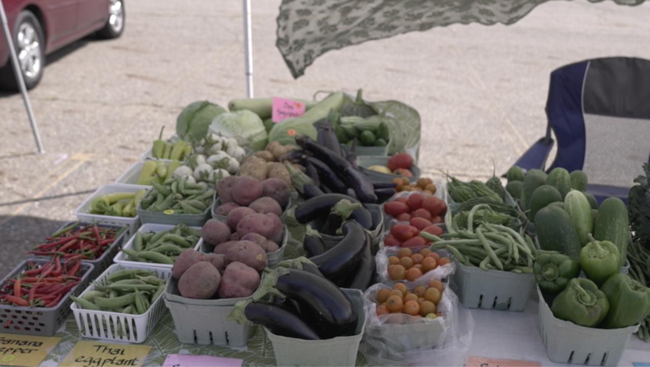 Produce from Khoua Veggie