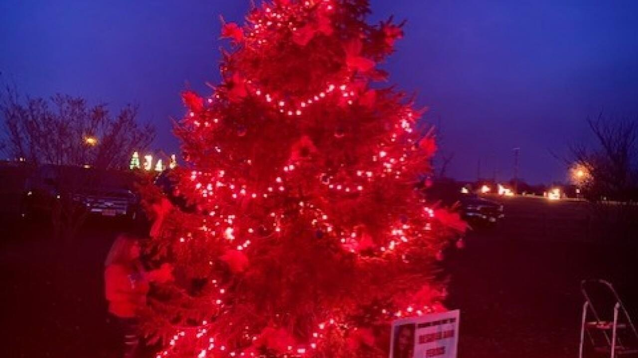 Desirea Ferris Christmas tree