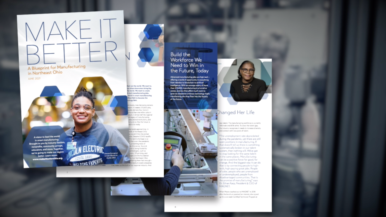 MAGNET launches blueprint to strengthen Northeast Ohio's manufacturing industry