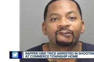 Sources: Rapper Obie Trice accused of shooting girlfriend's son in Commerce Township
