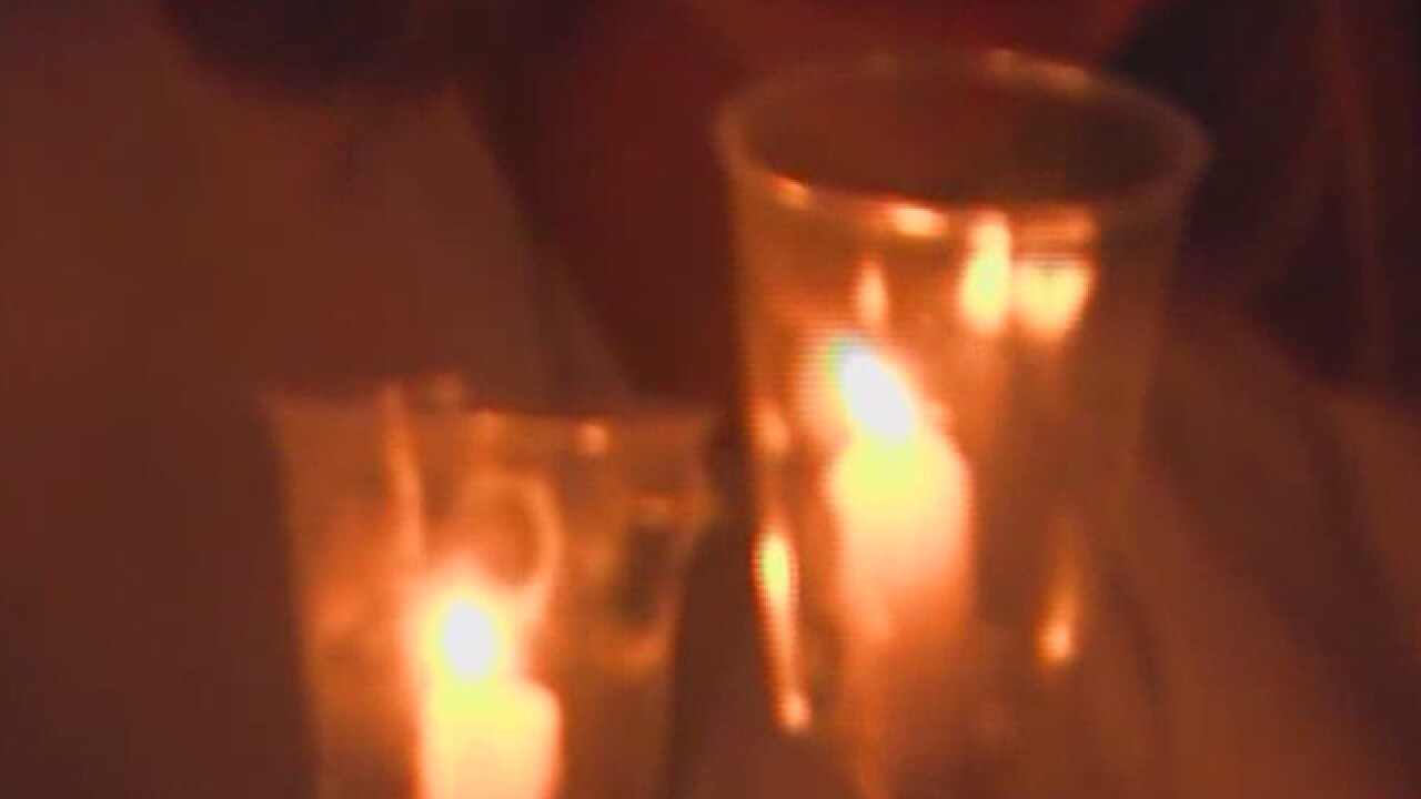 Candlelight vigils held for Austin and Perry