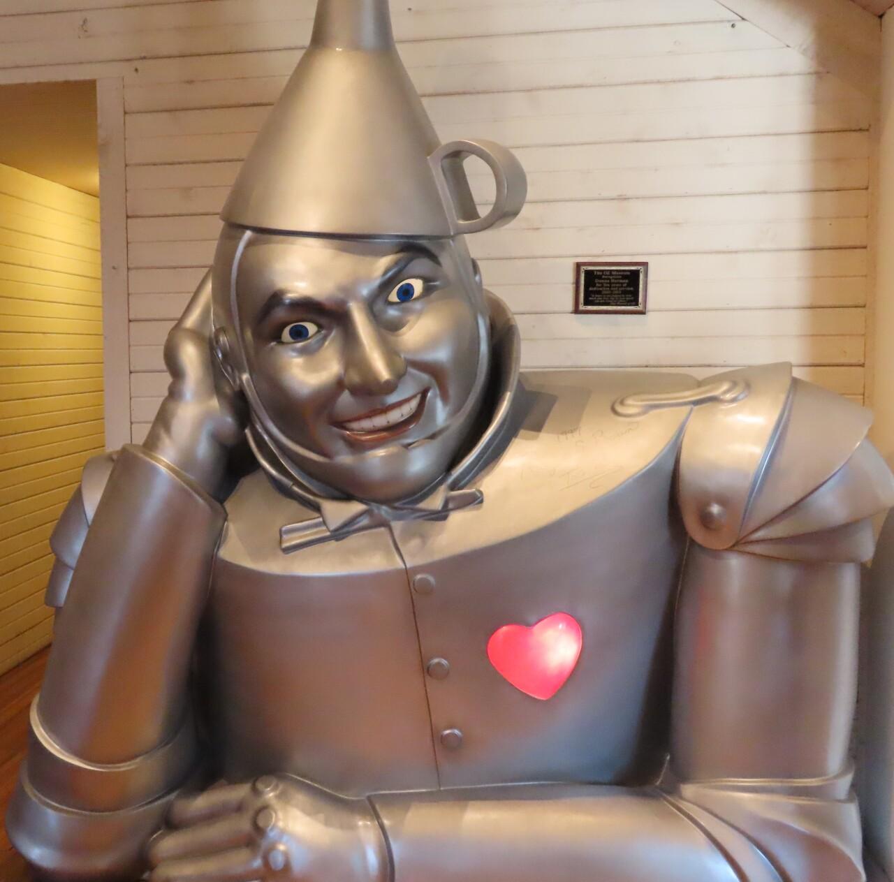 The Tin Man greets visitors.jpg