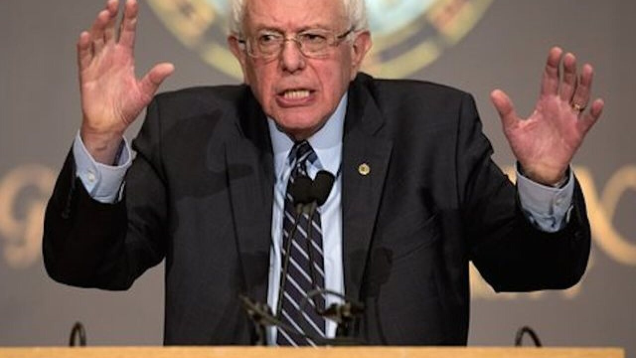 Sanders vowing to break up banks if elected