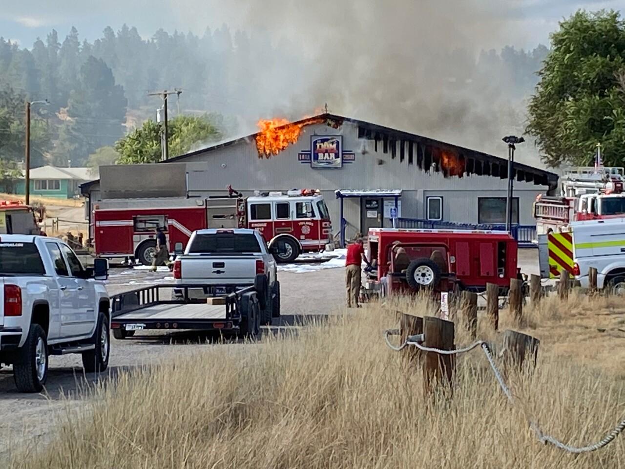 Dam Bar fire 1