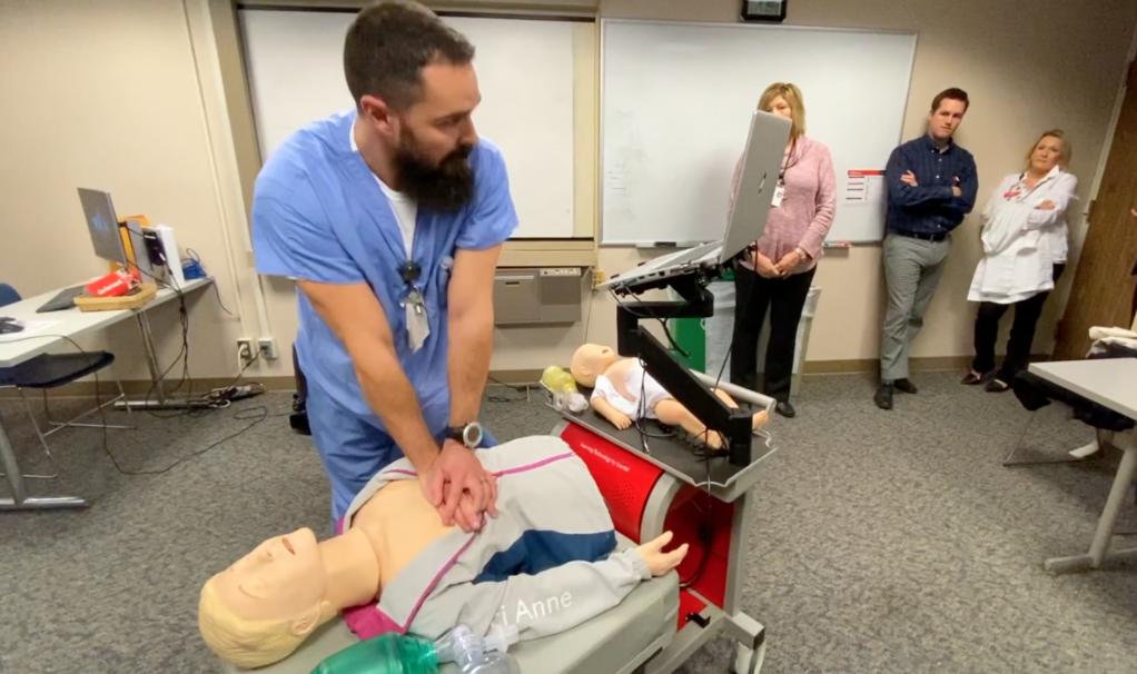 RN Jake Long tries the RQI program