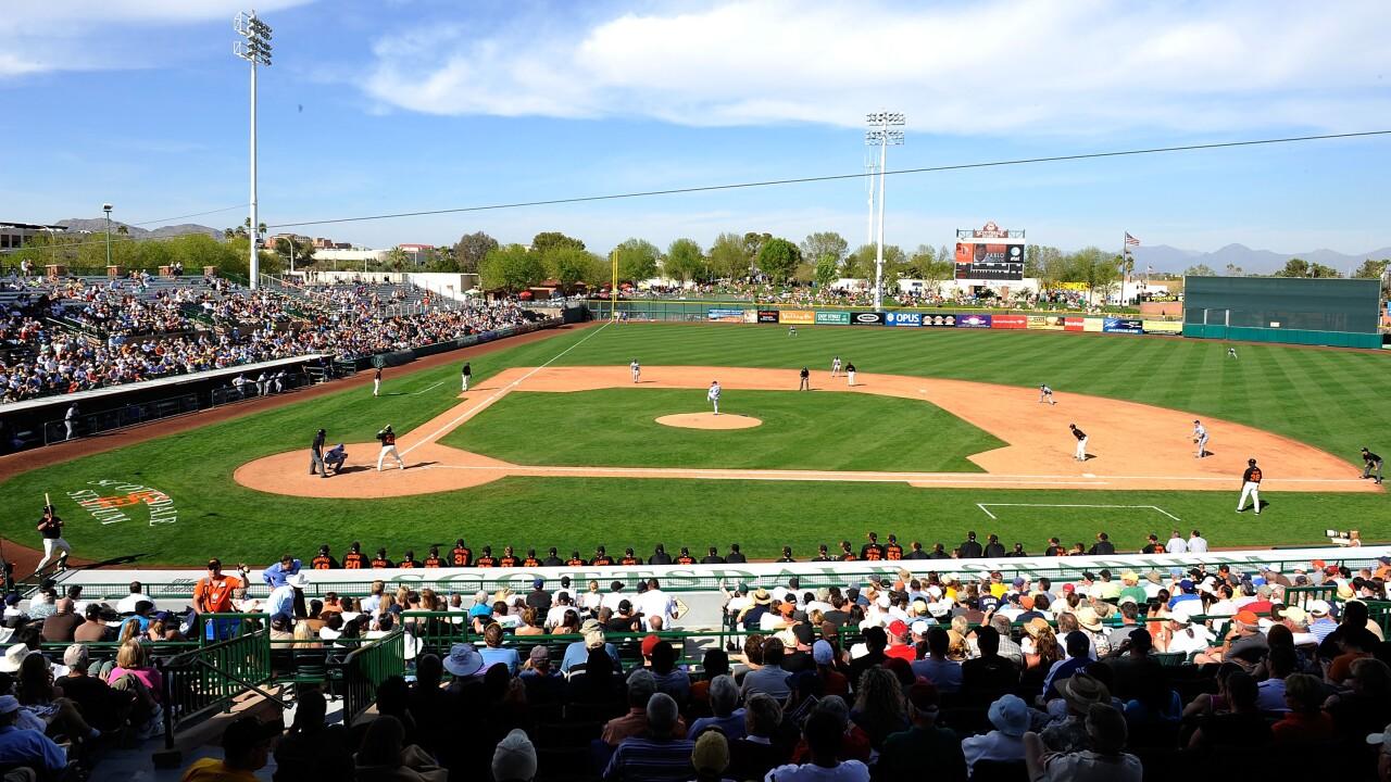 KNXV Scottsdale Stadium Giants