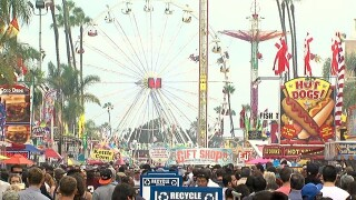 Today at the San Diego County Fair: June 7