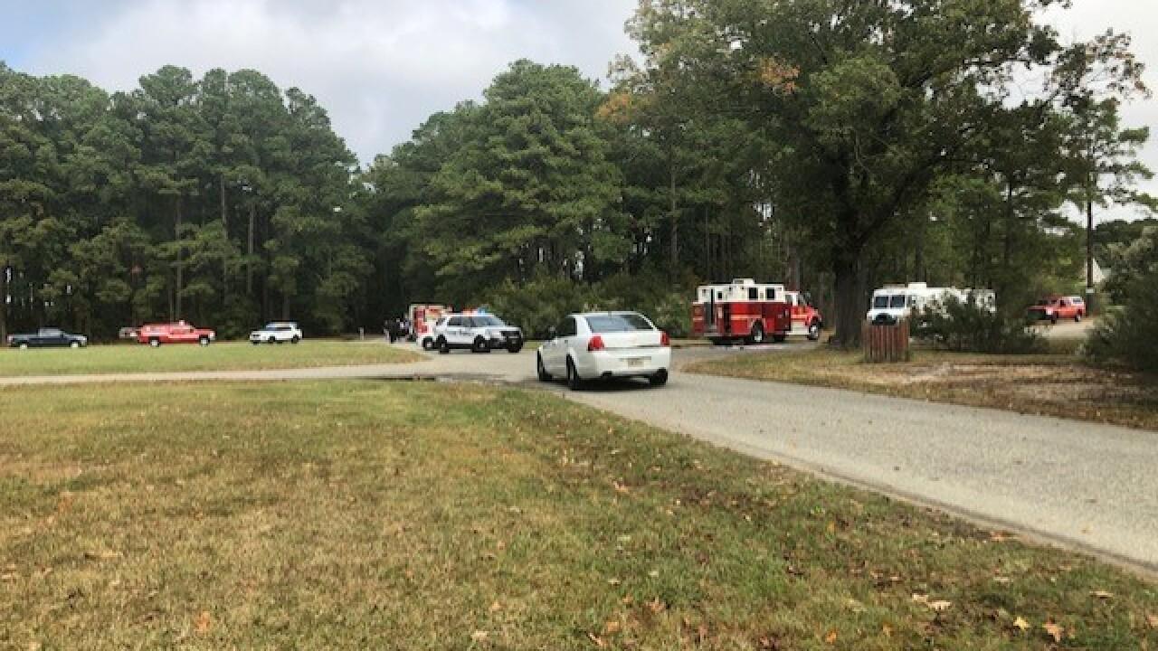 Hampton officials determine suspicious package found in city park notthreatening