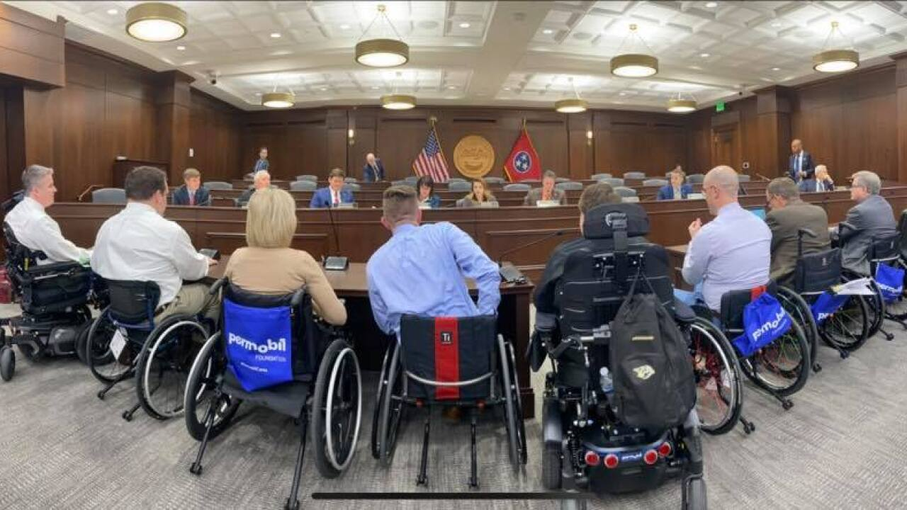 Tennessee boy in wheelchair challenges state lawmakers to 'spend a day in my wheels'