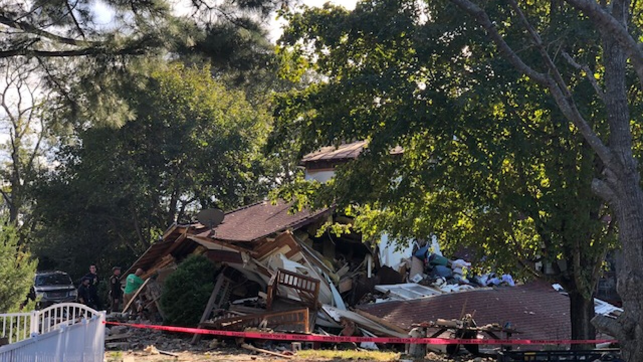 Woman injured in King George home explosion