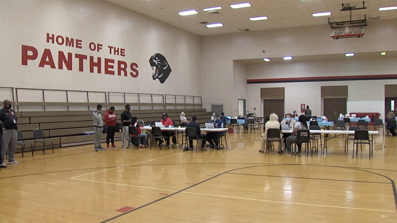 North Central High School Vaccine clinic1.png