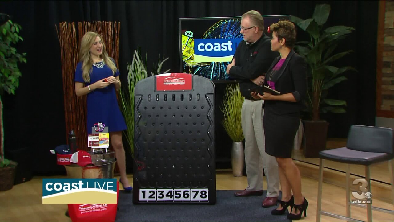 The winning code for the Pomoco Prize Drop and learning to shop for car warranties on Coast Live