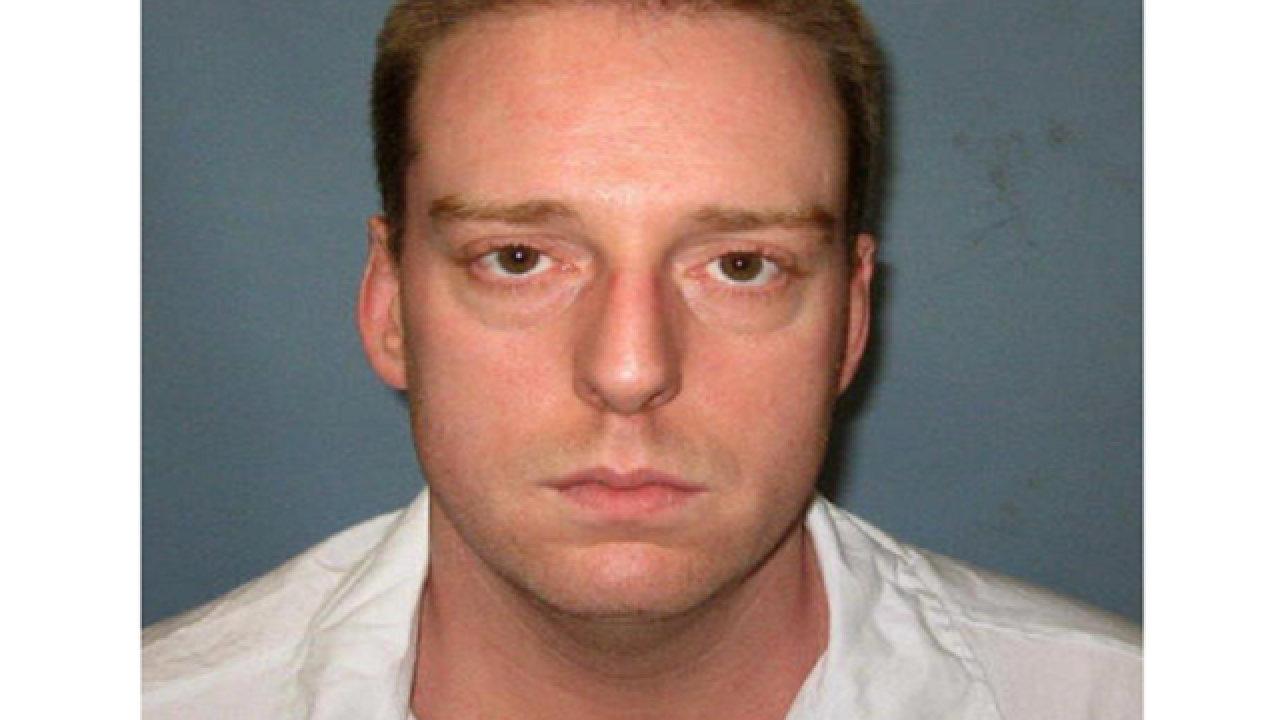 Ala. inmate coughs, heaves 13 minutes into execution