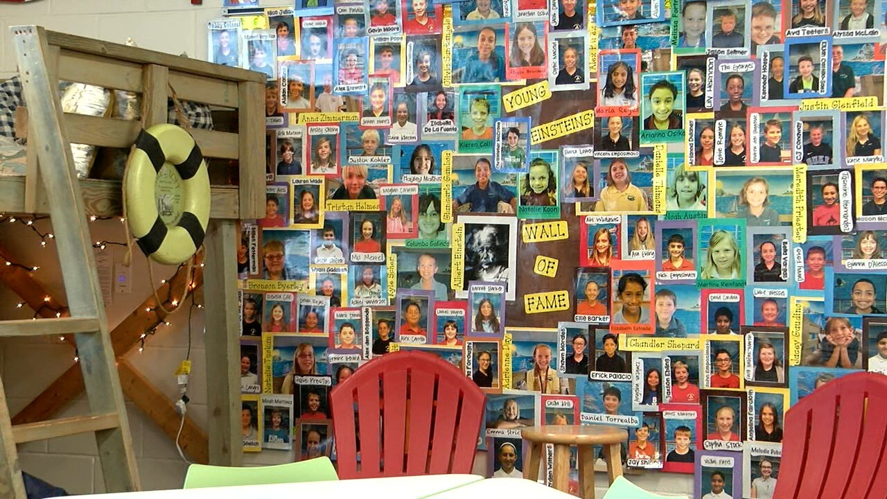 Mrs. Hood's Wall of Fame