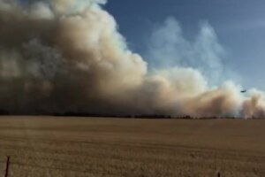 Wildfires burning in Fergus County