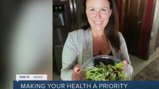 Woman shares her story about making health a priority
