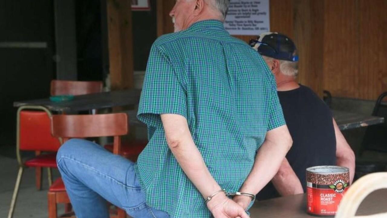 State, local police raid Butler County bar