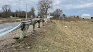 Mansfield crash
