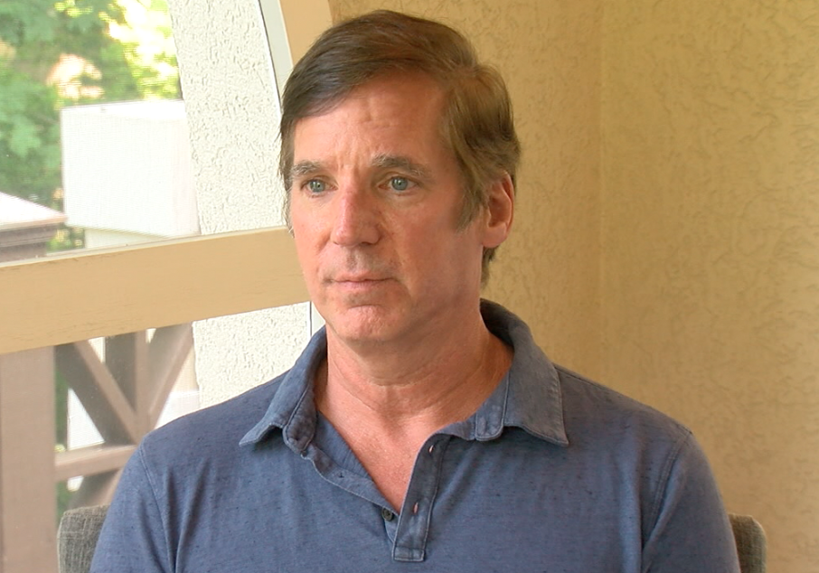 Rob Deubell says Loveland nursing home called police when he refused to leave dying father.