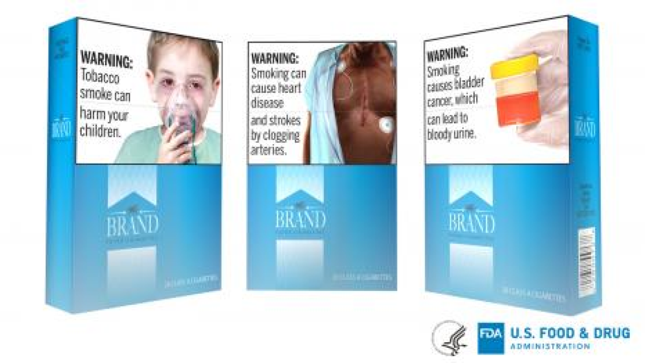 FDA proposes adding new health regulations to cigarette packages, ads