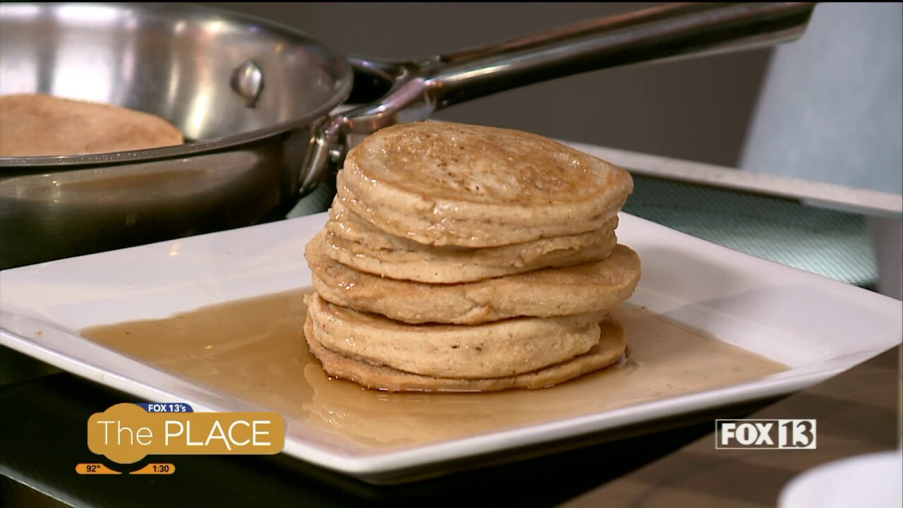 Try this Keto-friendly pancake recipe during an upcoming group fitnessexperience