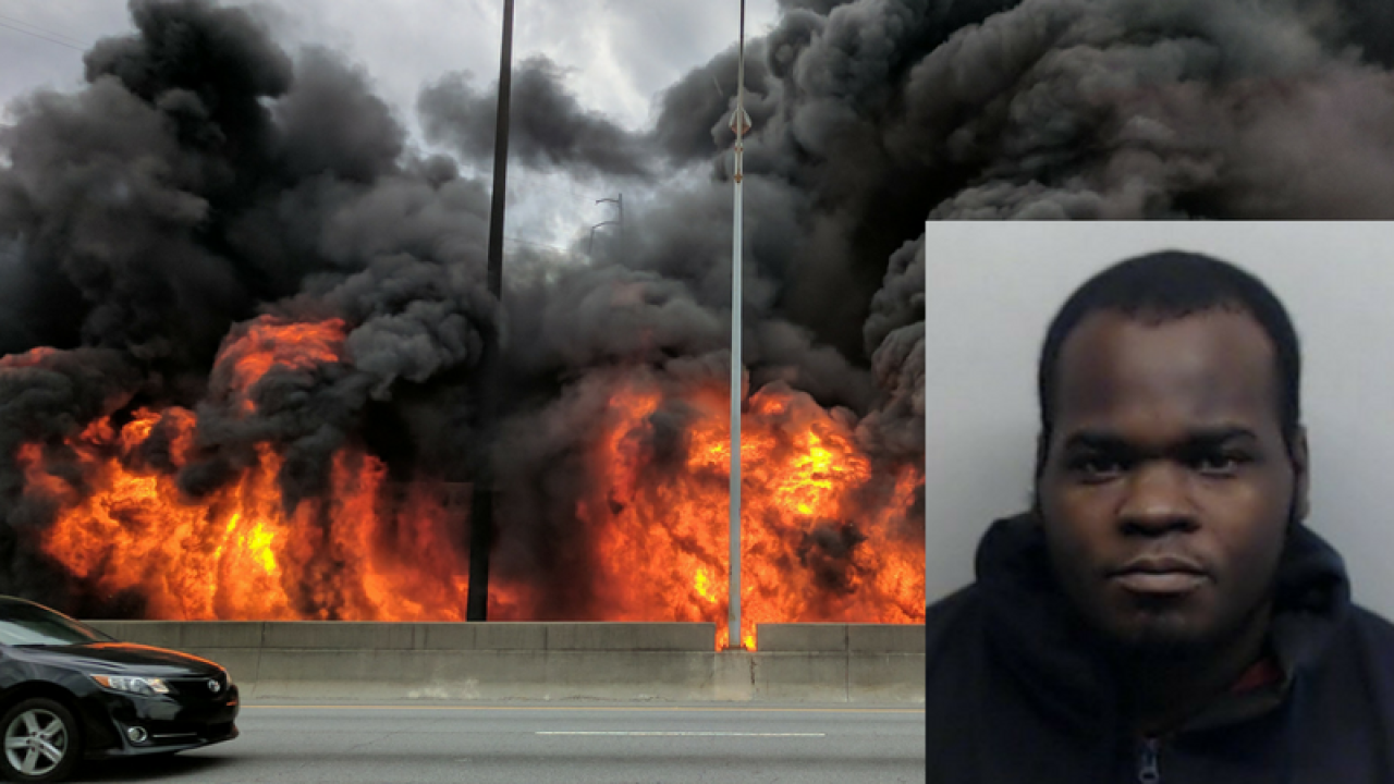 Suspect discussed smoking crack before I-85 collapse, affidavit shows