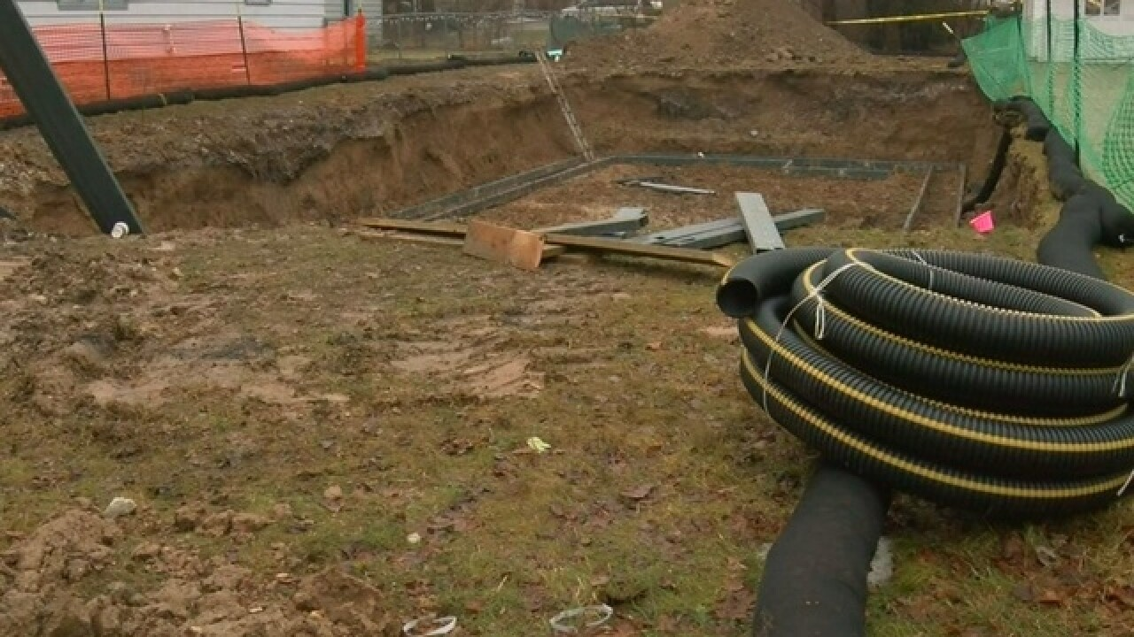 Man buried alive trying to escape from bulldozer