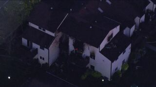 Staten Island house fire in April 2020