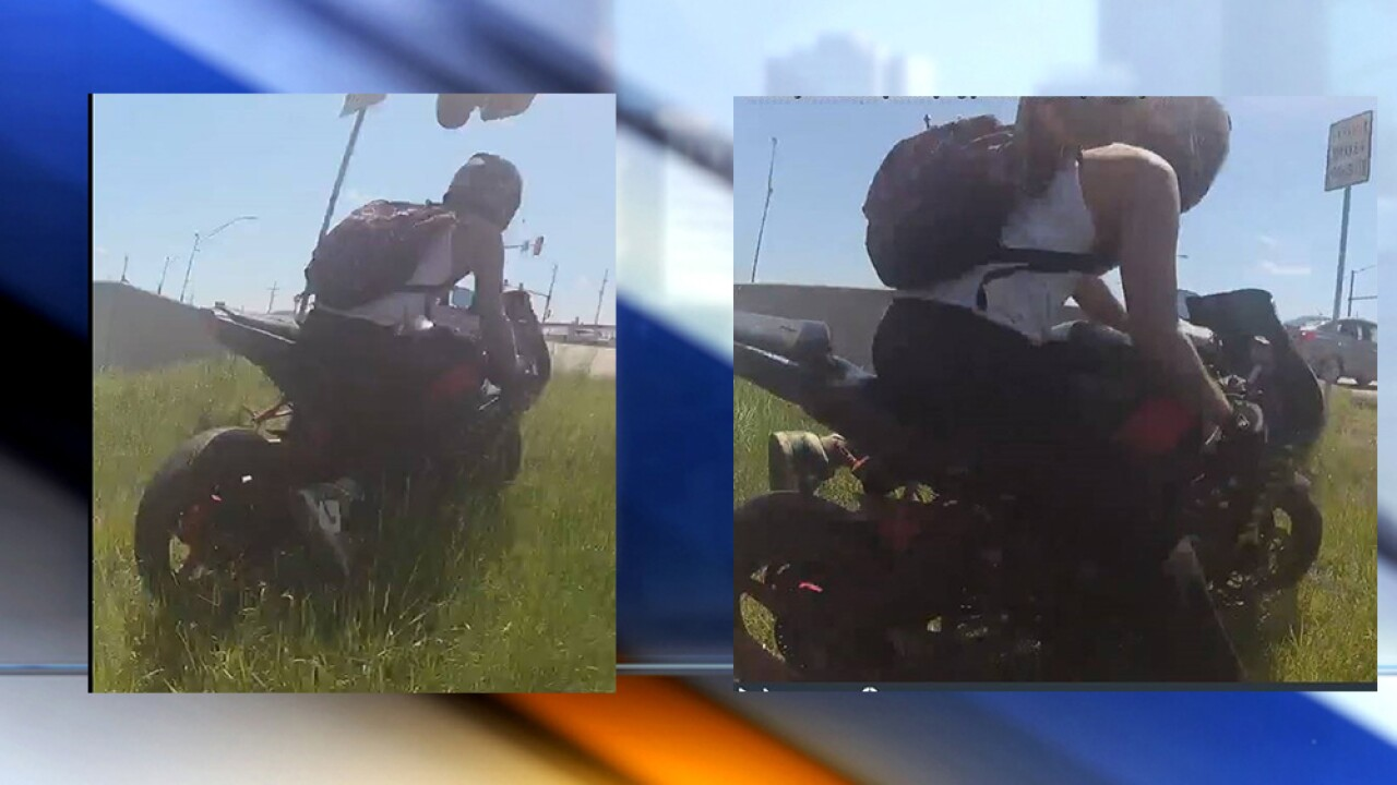 Motorcyclist sought in Bonner Springs