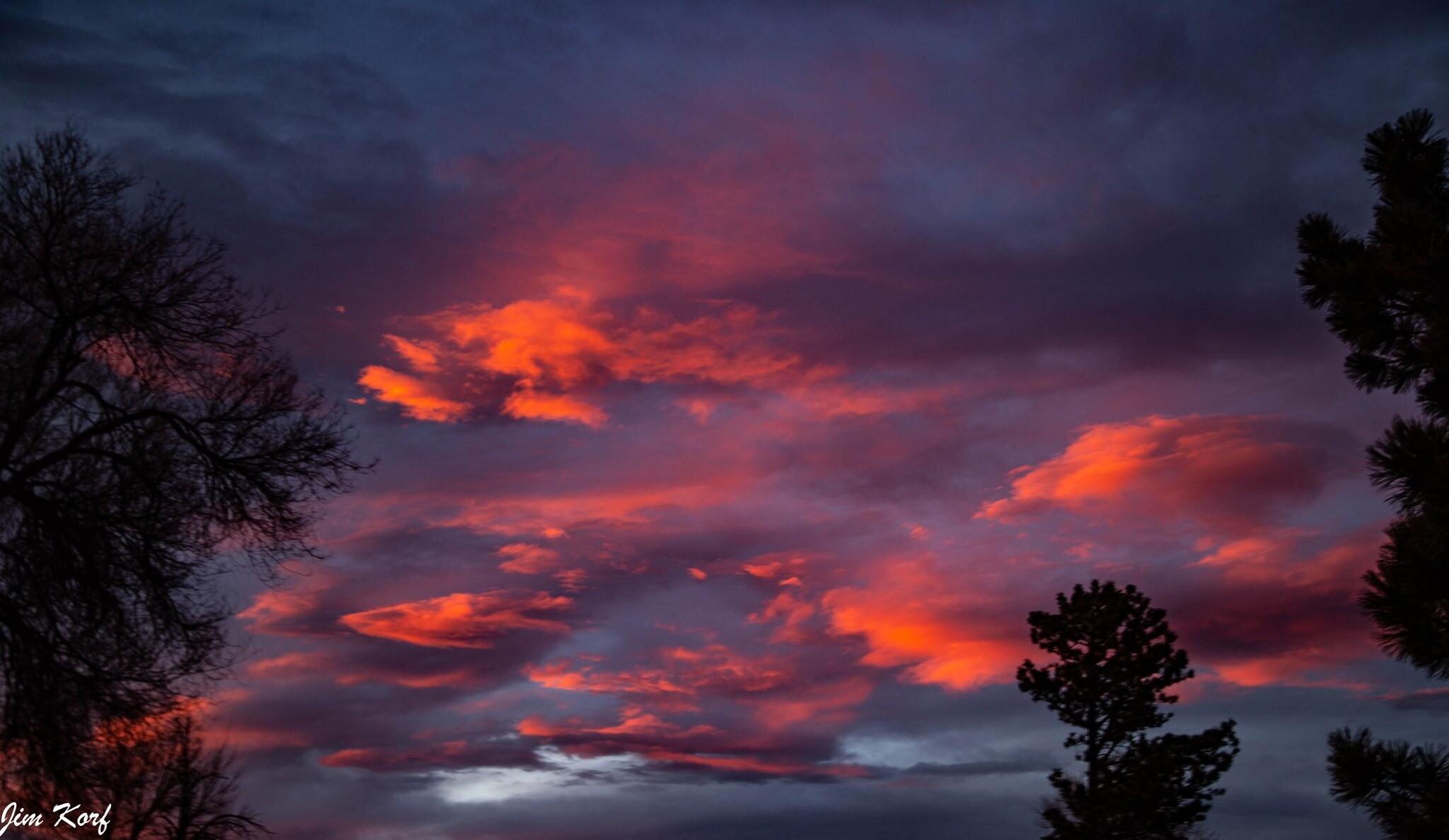 Colorado City sunset