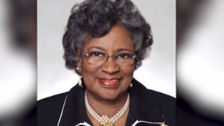 The widow of the Rev. Dr. Ralph Abernathy, Juanita Abernathy worked alongside him and the Rev. Martin Luther King Jr. and others for the right to vote. (Source: Family handout/CNN)
