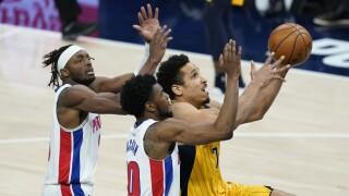 Malcolm Brogdon Pistons Pacers Basketball