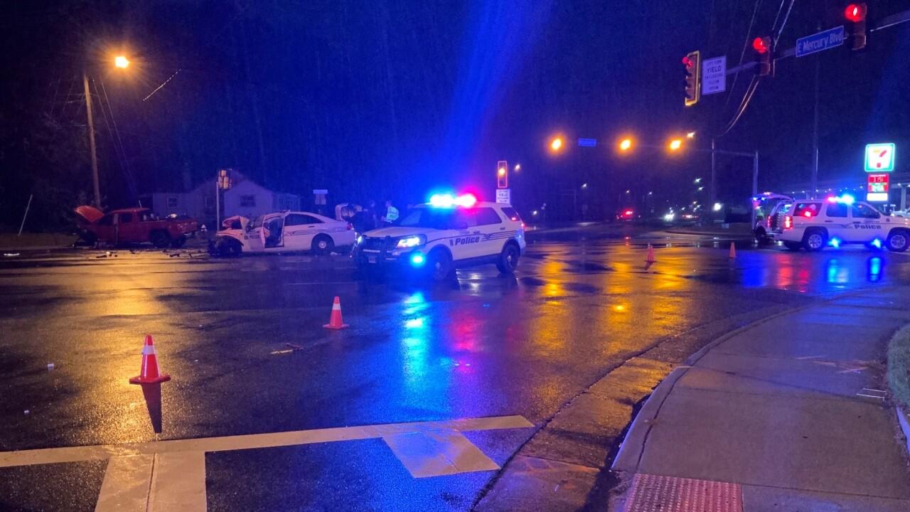 HP Mercury and Woodland officer crash (October 12) 2.jpg
