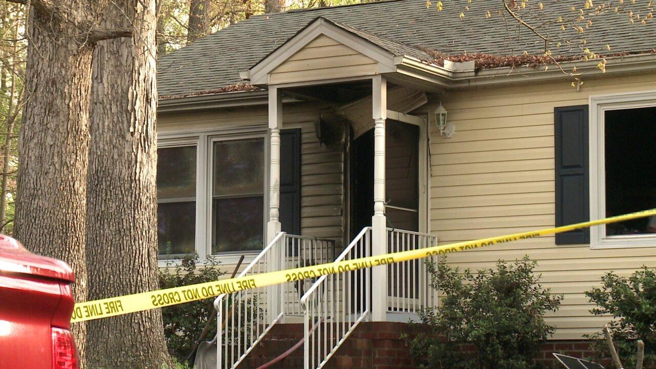 Woman escapes Hanover house fire, rescuesdog