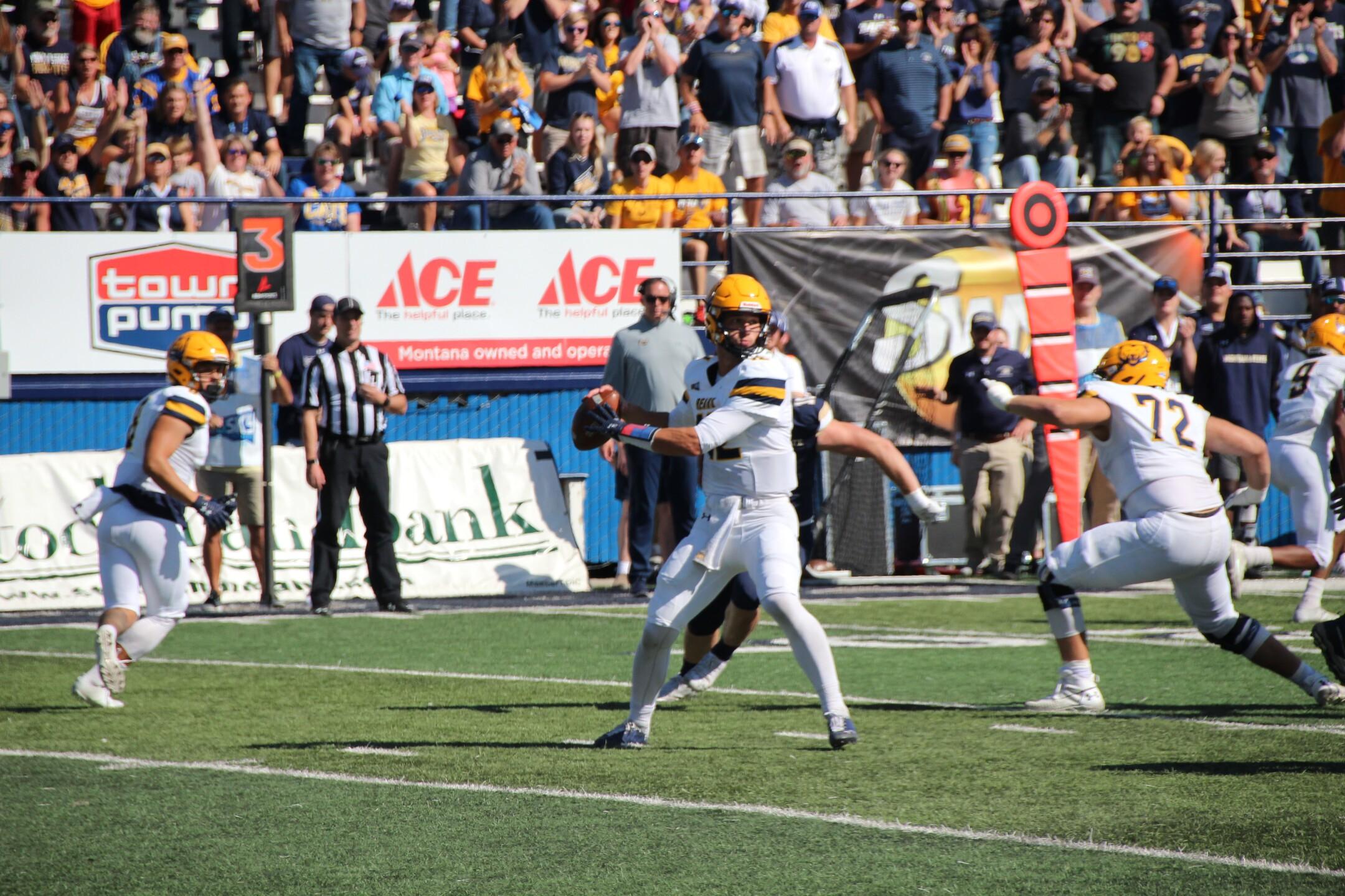 UNC Quarterback Dylan McCaffrey