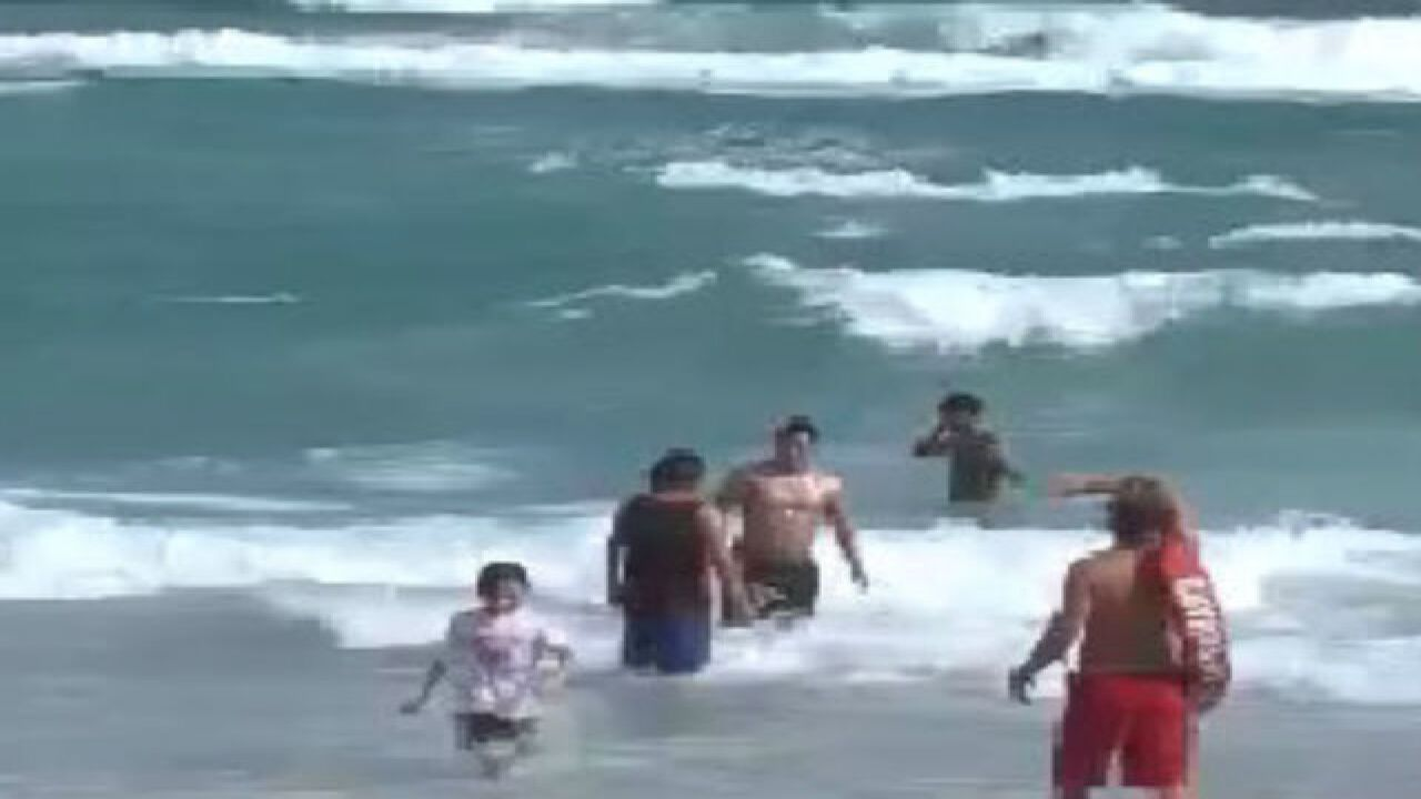 Dangerous rip currents forecasted