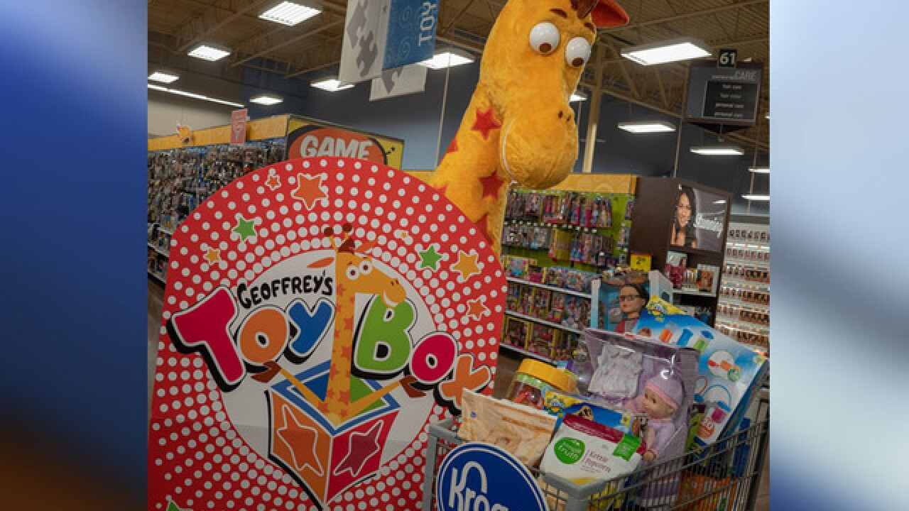 Geoffrey the Giraffe of Toys 'R' Us fame coming back to Kroger, Ralphs stores