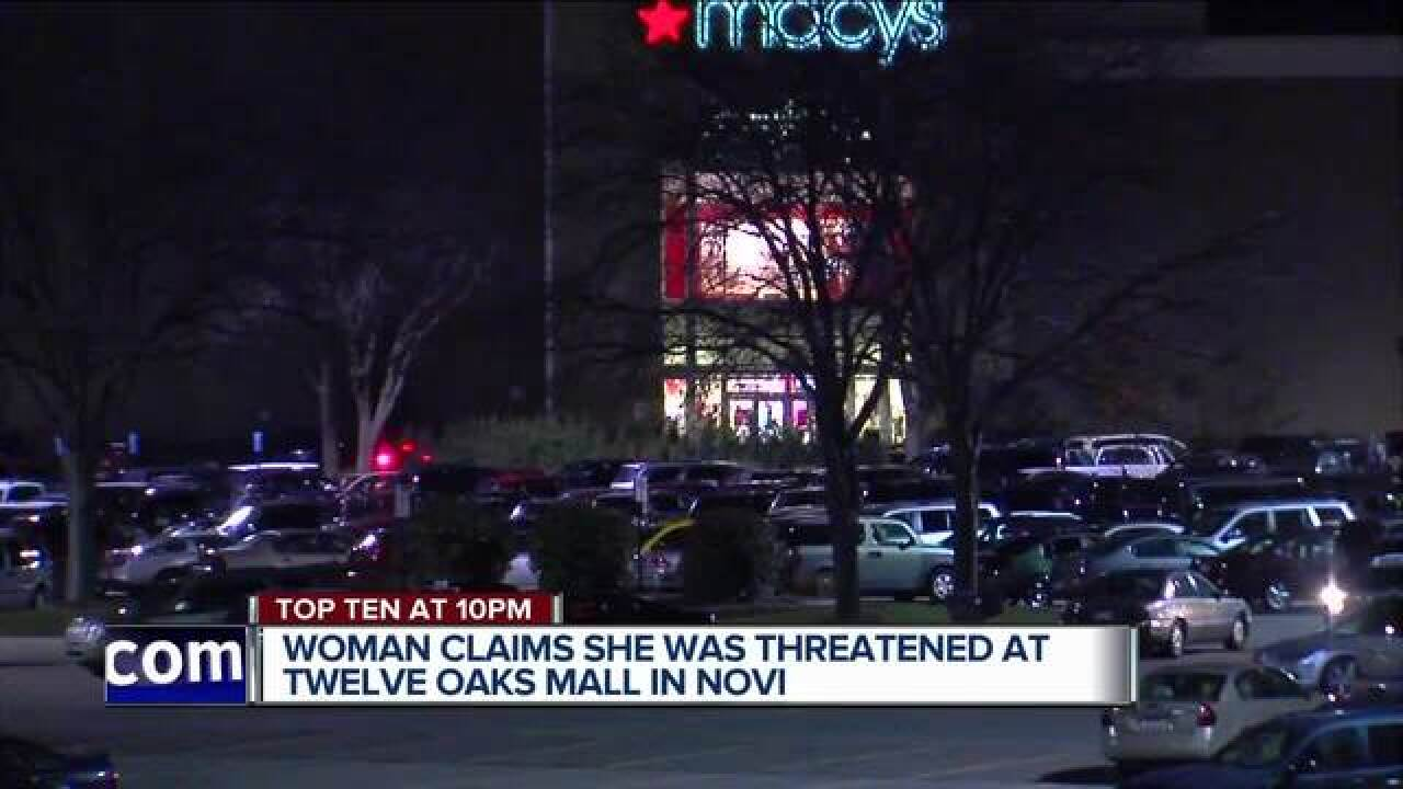 Muslim woman says she was threatened at mall